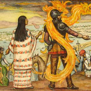 La Malinche con Elisa Quijeiro y restaurante Pasillo de Humo de Alam Méndez