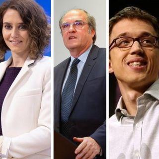 Tres nombres para liderar la Comunidad de Madrid…, de momento