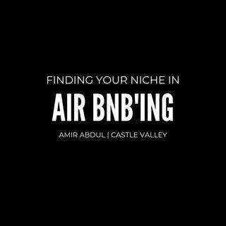Air bnb'ing- Amir Abdul
