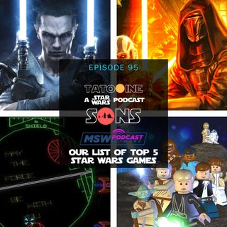 (Audio Corrected) Top 5 Star Wars Games