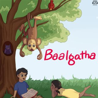 A Lion and a Dog: a Tale from Panchatantra