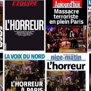 Terroristic attacks in Paris