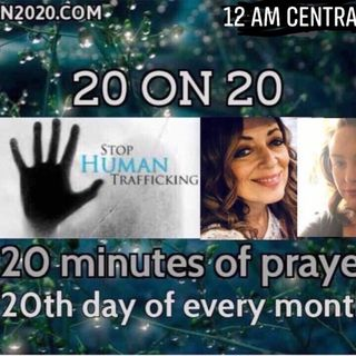 Episode 311 - 20 on 20 pre prayer warm up with Jacklyn Conrad
