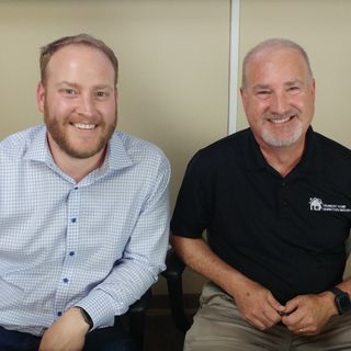 Samuel Howe with Alliance Group and Hank Spinnler with Harmony Home Inspection Services