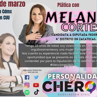 Melany Cortés de Zacatecas, plática su experiencia en las elecciones 2021