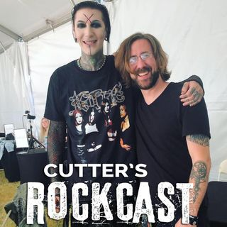 Rockcast Backstage at Aftershock 2019 - Chris Motionless of Motionless in White