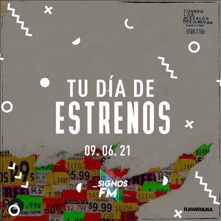 SignosFM #TuDíaDeEstrenos ... El segundo de junio
