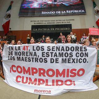 CNTE no se opone a Reforma esa es calumnia de la derecha
