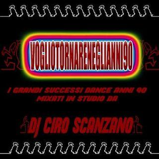 """""""VOGLIO TORNARE NEGLI ANNI 90"""" BY CIRO SCANZANO"""