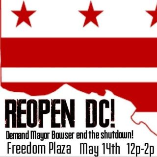 Reopen DC Reopen America Rally Go Right and Reopen USA