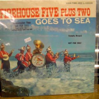 Firehouse Five plus Two ‎– Goes To Sea  selected cuts side 2