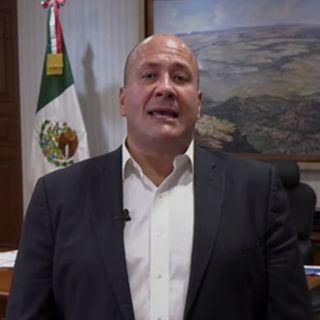 El gobernador de Jalisco, pide que en 2021 no se reciban menos recursos que en este año
