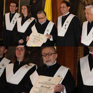 URosario nombró maestro Honorario a Héctor Osuna