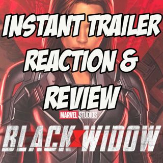 Black Widow - Trailer Reaction & Review
