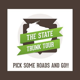 "12 | Talking again with WI Public Radio's ""Central Time"" in March about the State Trunk Tour"