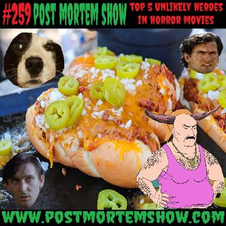 e259 - Creepy Carl's Satanic Chili Dogs (Top 5 Unlikely Heroes in Horror Movies)