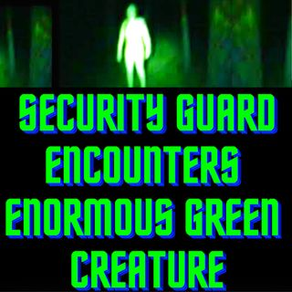 Security Guard Encounters Enormous Green Creature TRUE STORY 👽 Real Aliens 2020