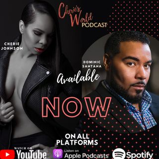 Dominic Santana known for playing Suge Knight and a lot more calls into Cherie's World Podcast