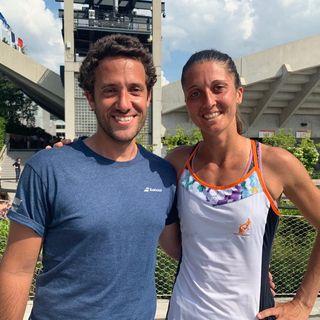 """Qualificazioni Roland Garros 2019, Iozzo (all. Gatto-Monticone): """"Giulia se lo meritava"""""""