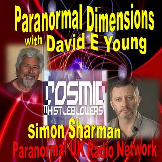 Paranormal Dimensions Show - Simon Sharman