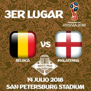 Bélgica vs Inglaterra en VIVO