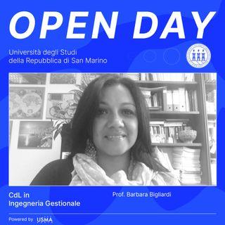 Open Day 2021 - Ingegneria Gestionale - La direttrice Barbara Bigliardi presenta i corsi