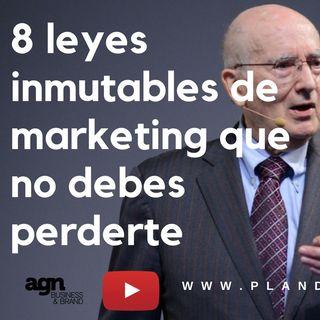 Conoce las 8 leyes inmutables de un buen marketing