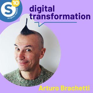 10 anni di Synesthesia con Arturo Brachetti. Parliamo di Digital Transformation