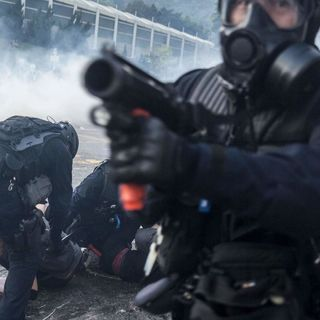 Hong Kong in recession as protests grow increasingly violent