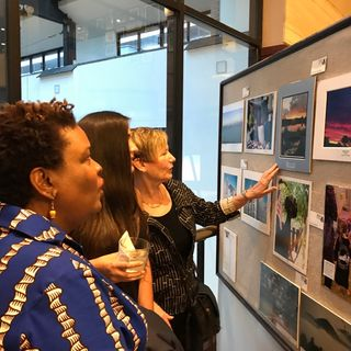 New Zealand Sunset's Feature at National Press Club 19th Photo Exhibit