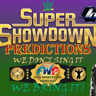 WWE Super Showdown Predictions