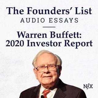 The Founders' List: Berkshire Hathaway 2020 Annual Report from Warren Buffett