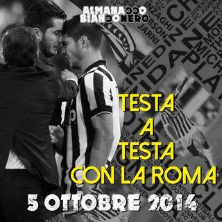 5 ottobre 2014 - Testa a testa con la Roma