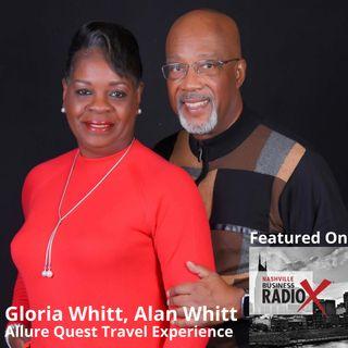 Alan & Gloria Whitt, Allure Quest Travel Experience