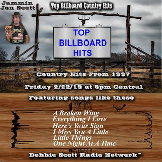 Top Billboard Country Music Hits from 1997 2-22-19