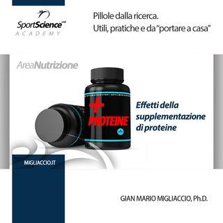 Supplementazione di proteine nello sport