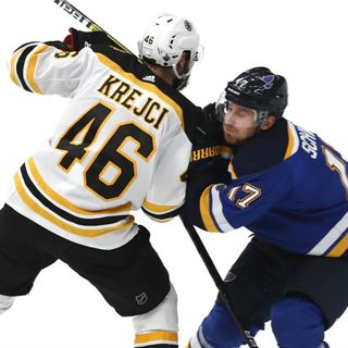 Bruins' David Krejci On Line's Lack Of Production: 'Talk is Cheap'