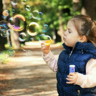 In Our Childhood, The Mountains Of Soap Bubbles Seemed So Incredible To Us