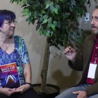 Meet The Aliens From the Tetrasphere With Author Patty Perrin on the Hangin With Web Show