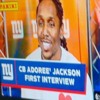 Giants Sign Both #KennyGolliday & #AdoreJackson Playoffs We're Back Baby!!