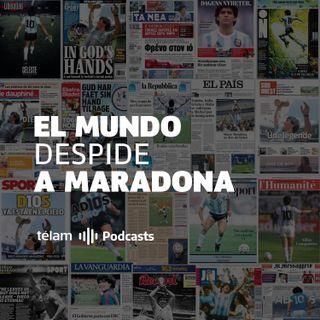 El mundo despide a Maradona