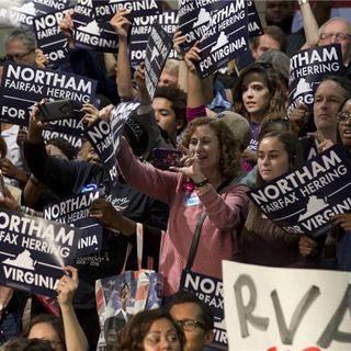 Robert E Lee and DJ Trump Defected in Virginia