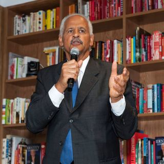 Special Guest Stedman Graham/The Drive at 5 with Roman.
