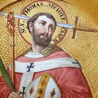 Fiesta de la Sagrada Familia y Santo Tomás Becket, obispo y mártir