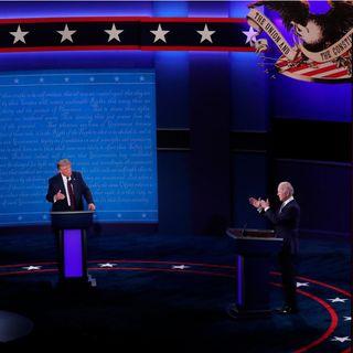 Por primera vez debatieron Donald Trump y Joe Biden