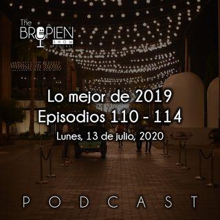 Lo mejor de 2019 - Episodios 110 al 114