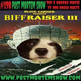 e198 - Biffraiser 3: Derp on Earth (Top 5 Horror Movie TV and Radio Hosts)