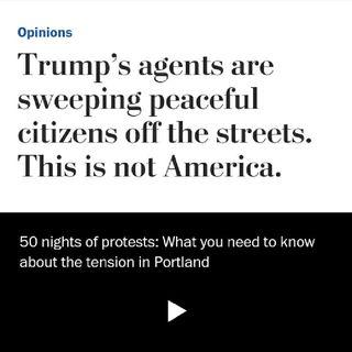 Police Kidnap Citizens In Portland, Oregon 👮♂️👮♀️