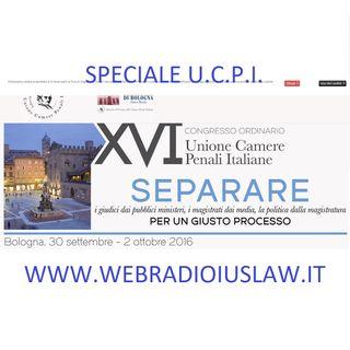 LIVE! Speciale XVI Congresso UNIONE CAMERE PENALI ITALIANE - update delle ore 10:30