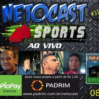 NETOCAST 1147 DE 08/05/2019 - ESPORTES